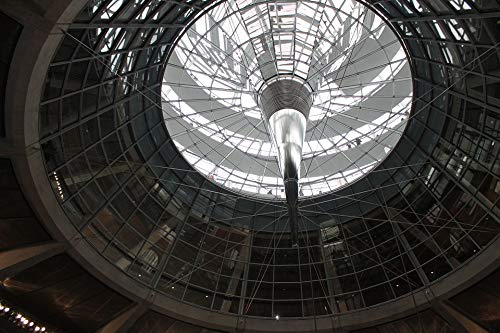 Photography Poster - Reichstag, Dome, Berlin, Glass Dome, 24