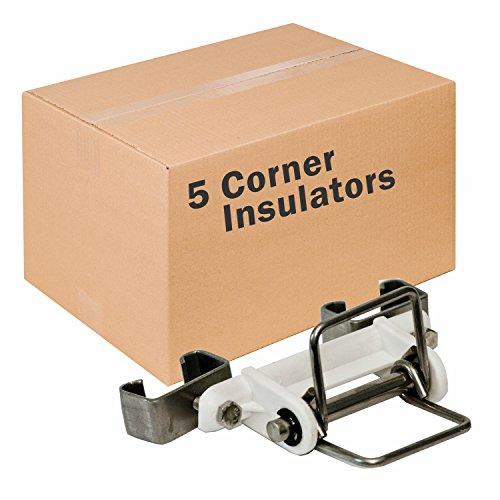 Zareba PATPC-Z Z Polytape Corner Insulator, 5 Pack