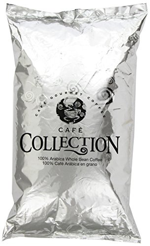 Cafe Collections Espresso Roast Whole Bean Coffee (4 lbs Bags, Pack of 2)