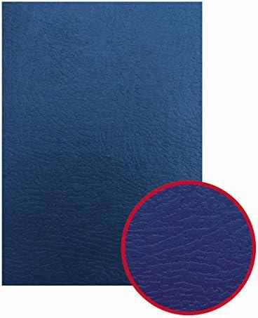 GBC ESP426081 - Portada de encuadernación IBISCOLEX cartón símil piel DIN A4 750 grs (Pack 50) color azul: Amazon.es: Informática