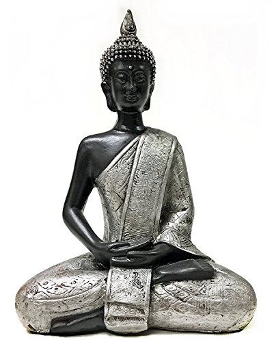 Thai Buddha Meditating Peace Harmony Statue, Beautiful 8