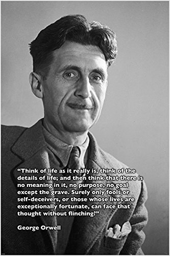 George Orwell Quotes   BrainyQuote Etsy