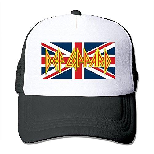 Def Leppard Band Joe Elliott Rick Allen Nice Protective Trucker Hats (Def Rick Allen Leppard)