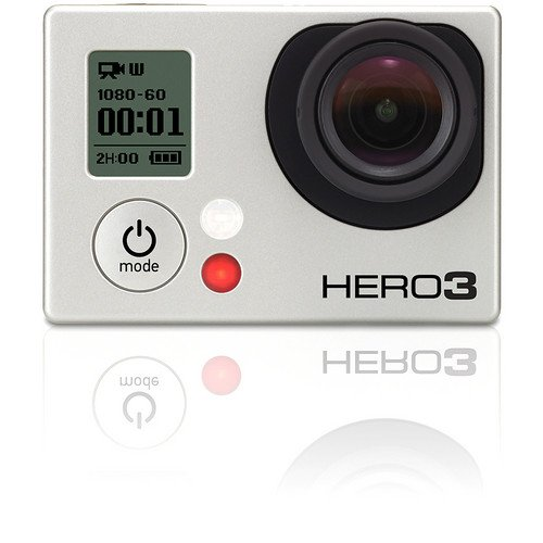 Gopro Hero 3 Silver Edition + Bacpac LCD Screen + Handlebar