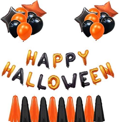 SilenceID Décoration de fête Halloween pour intérieur ou extérieur