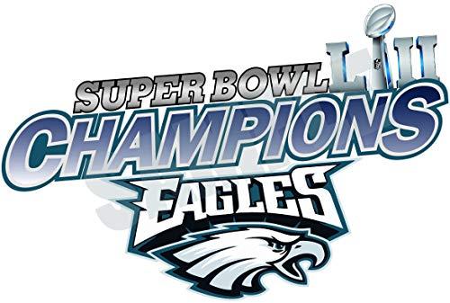 - Philadelphia Eagles Champions Super Bowl Vinyl Decal | 4 Size Sticker Die Cut Helmet Patch | Philadelphia Eagles Champions Super Bowl car Banner (3