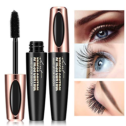 4D Waterproof Lash Mascara, Washable Eyelash Extension Cream/Black