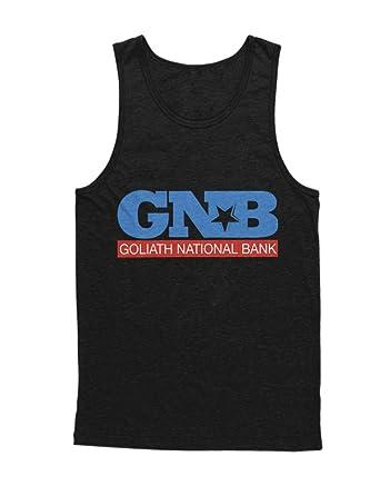Tank-Top GNB Goliath National Bank How i met your Mother Barney Ted C836385:  Amazon.de: Bekleidung