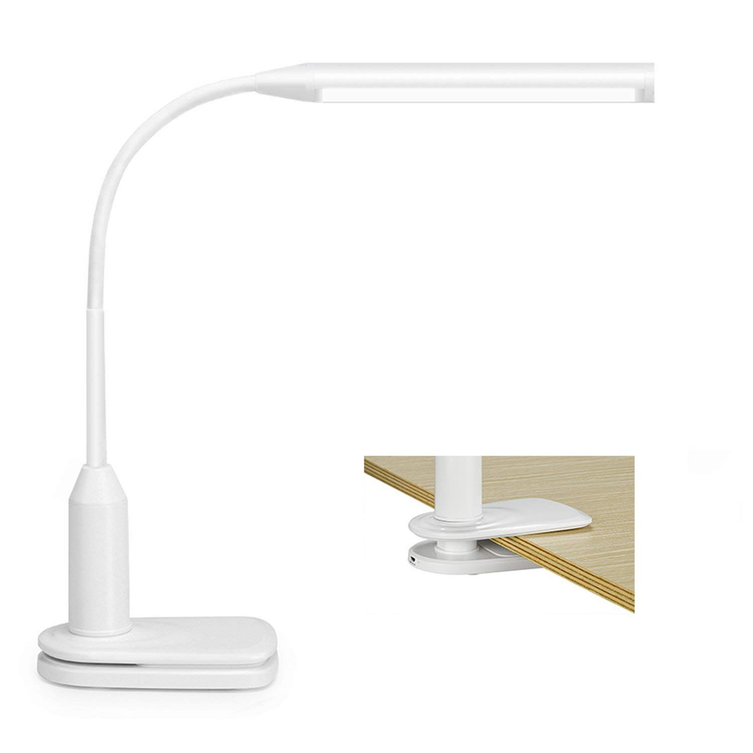 Lights & Lighting Capable Adjustable Usb Led Desk Lamps Clamp Clip Rechargeable Table For Reading Energy Saving Touch Switch Lamp For Living Room Spare No Cost At Any Cost Lamps & Shades