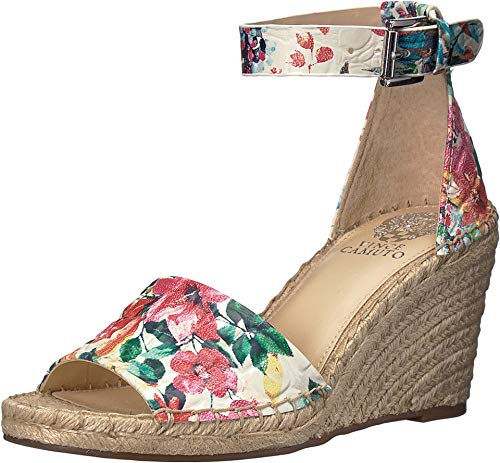 Vince Camuto Womens Leera Open Toe Casual Platform, Bright Multi, Size 8.5