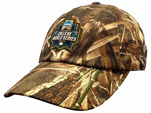 2016 NCAA Omaha College World Series CWS Realtree Camo Baseball Slouch Hat Cap