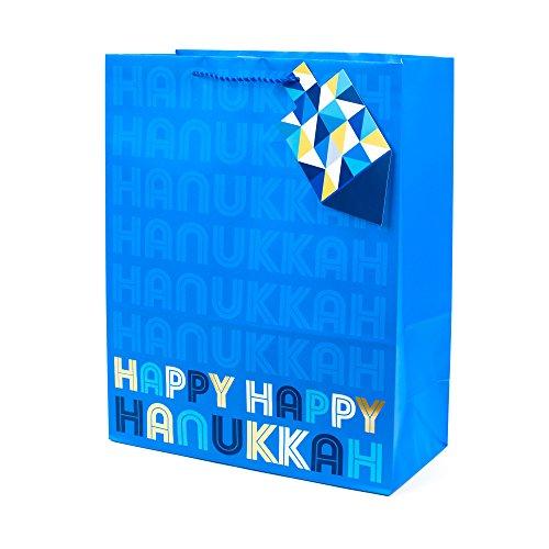 Hallmark Tree of Life Extra Large Hanukkah Gift Bag (Happy Hanukkah) - Chanukah Bag