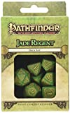Q Workshop Pathfinder Jade Regent Dice Set (7) Board Games