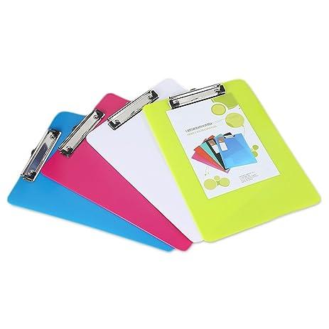 clipboard office paper holder clip. Zhi Jin 2Pcs A5 Standrad File Foolscap Clipboard Folder Hardback Clip Board Document Holder Yellow Office Paper F