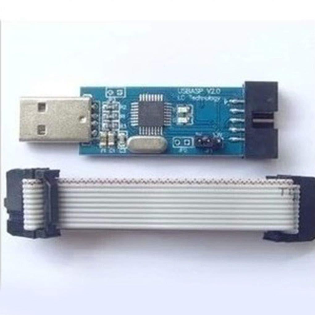 1PC  LC-01 51 AVR Programmer ISP USBASP Downloader
