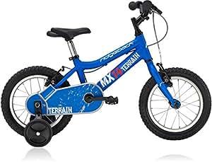 "Ridgeback MX-14 Aluminum 14"" Children's Bicycle in Matte Blue"