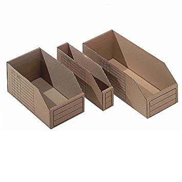 packdiscount – Bandeja de punta de cartón 30x15x11 cm