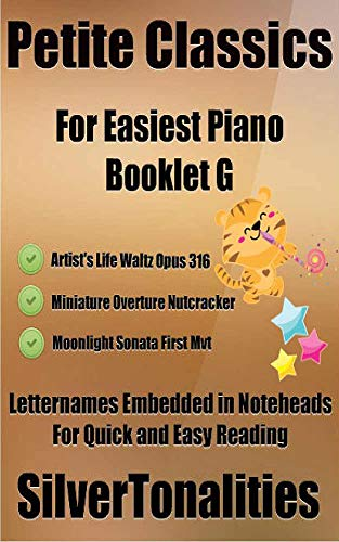 Petite Classics for Easiest Piano Booklet G