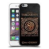 Official HBO Game Of Thrones Targaryen Metallic Sigils Soft Gel Case for Apple iPhone 6 / 6s