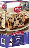 Katz Gluten Free Variety Pack, 1 Blueberry Loaf, 1 Powdered Donut, & 1 Chocolate Frosted Cupcakes,
