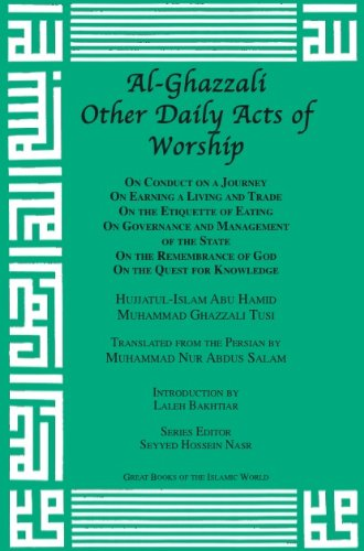 Al-Ghazzali Other Daily Acts of Worship