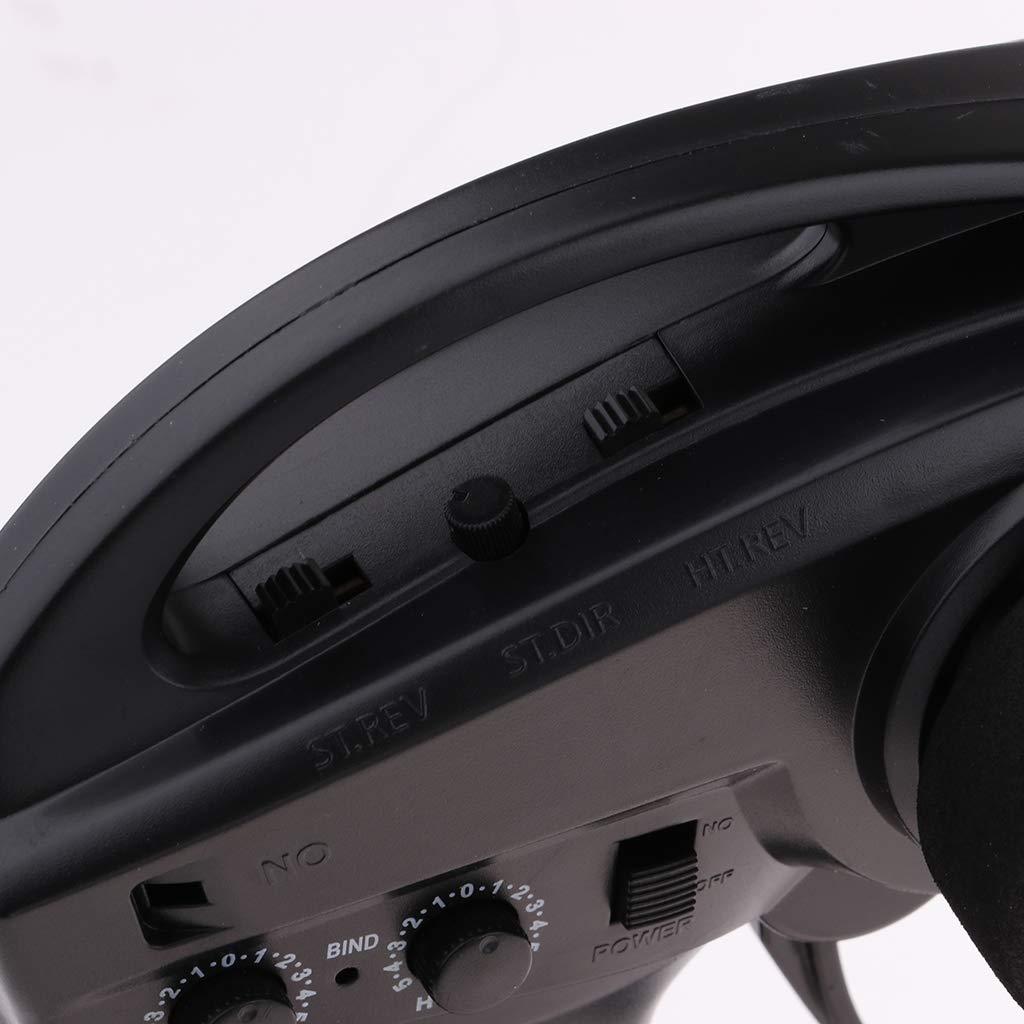 NON Sharplace 2CH Transmisor de Control Remoto 30A 30A 30A ESC para RC Coche (EU Plug) 8f7818