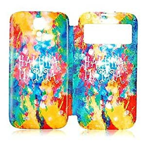 LIMME Dream Style Skylight Design Leather Full Body Case for Samsung Galaxy S4 I9500