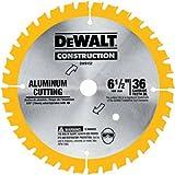 DEWALT DW9152 6-1/2-Inch 36 Tooth Aluminum Cutting Saw Blade with 5/8-Inch Arbor