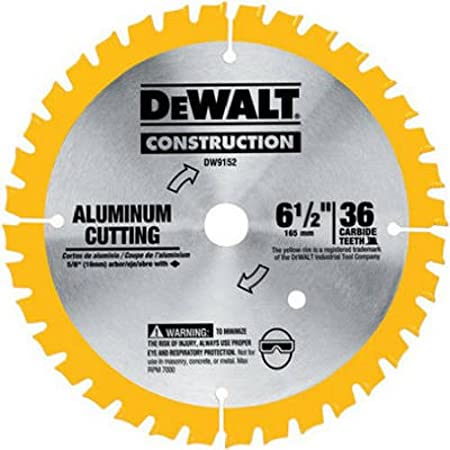 """DEWALT 6-1//2/"""" 36T Cordless Circular Saw Blade DW9152"""