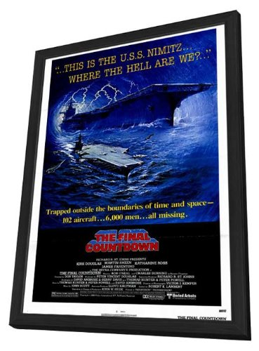 The Final Countdown 11 x 17 Movie Poster - Style A - in Deluxe Wood Frame