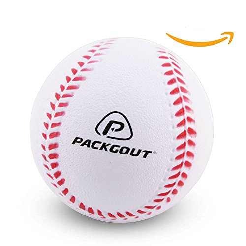 PACKGOUT Soft Baseballs, Foam Baseballs for Kids Teenager Players Training Balls (6pk/8pk/12pk), Reduced Impact ...