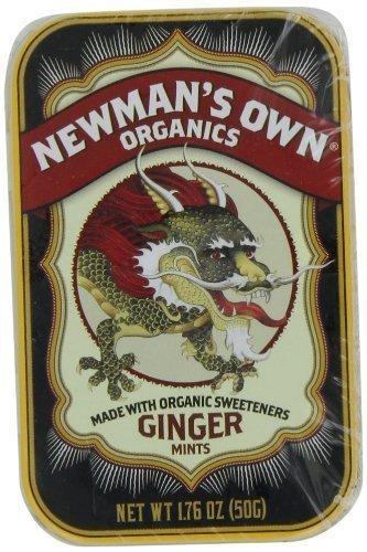 Organics Ginger Body Lotion (Newman's Own Organics Organic Ginger Mints, 1.76 Ounce)
