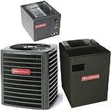 5 Ton 16 Seer Goodman Heat Pump System - DSZC160601 - CAPF4961D6 - MBVC2000AA-1 - TX5N4