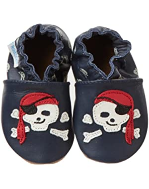 Pirate Dude Crib Shoe (Infant/Toddler)