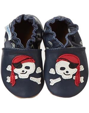 Pirate Dude Crib Shoe (Infant/Toddler)