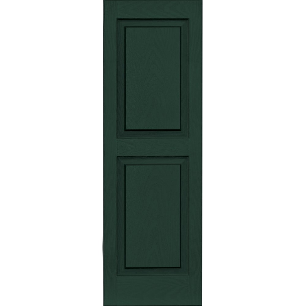 Vantage 3114043991 14X43 Raised Panel Shutter/Pair 991, Midnight Green The TAPCO Group - DROPSHIP