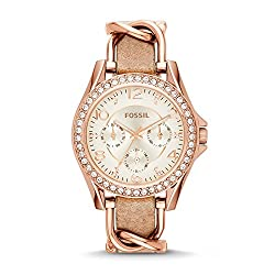 Image of the product Fossil Women Riley Quartz that is listed on the catalogue brand of Fossil.