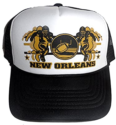 New Orleans Football Mesh Trucker Hat Cap