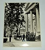 img - for A DEEPLY MOVING ORIGINAL PHOTOGRAPH OF PRESIDENT FRANKLIN ROOSEVELT'S FUNERAL COFFIN BEING ESCORTED BY AN HONOR GUARD INTO THE WHITE HOUSE. book / textbook / text book