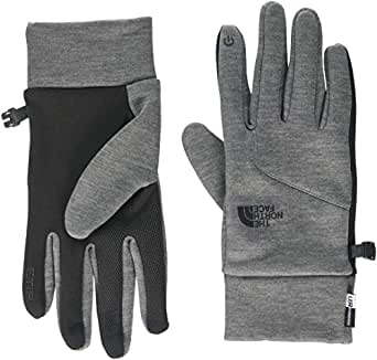 The North Face Men's Etip Gloves, Grey, Medium
