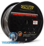 SQPH0BK - Soundquest 0 GA 50 Feet Power Wire Matte Black