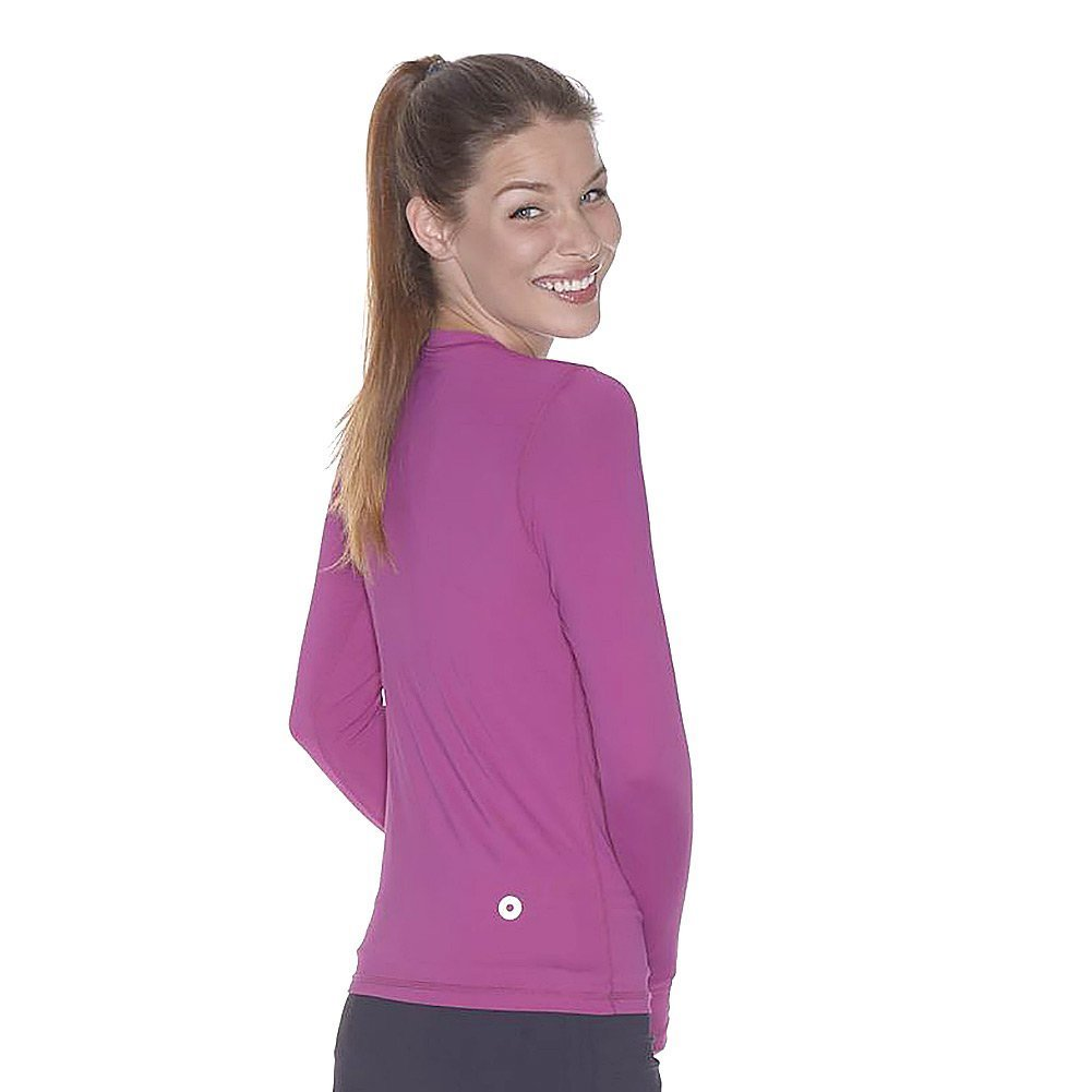 BloqUV Women's 24/7 Crew Neck Top, Orchid, Small