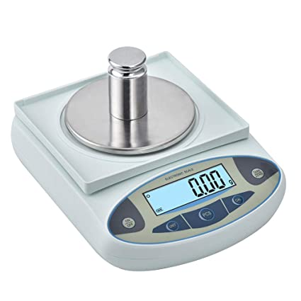 0a66f7e9fff6 KOOKYOU Precision Scale 0.01g Lab Analytical Electronic Balance Scale  Laboratory Jewelry Gold Scale Kitchen Weighing Gram Scale Balance (1000g)