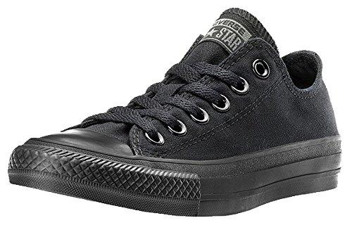 Converse Ctas Mono Ox, Sneakers Basses Mixte Adulte - Noir - Black Monochrome, 42,5
