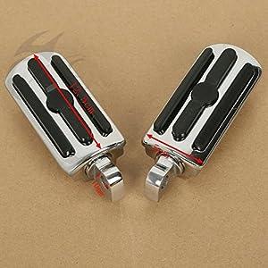 Tengchang Motor 10mm Highway Foot Pegs Footrest For Harley Davidson Sportster 1100 Dyna