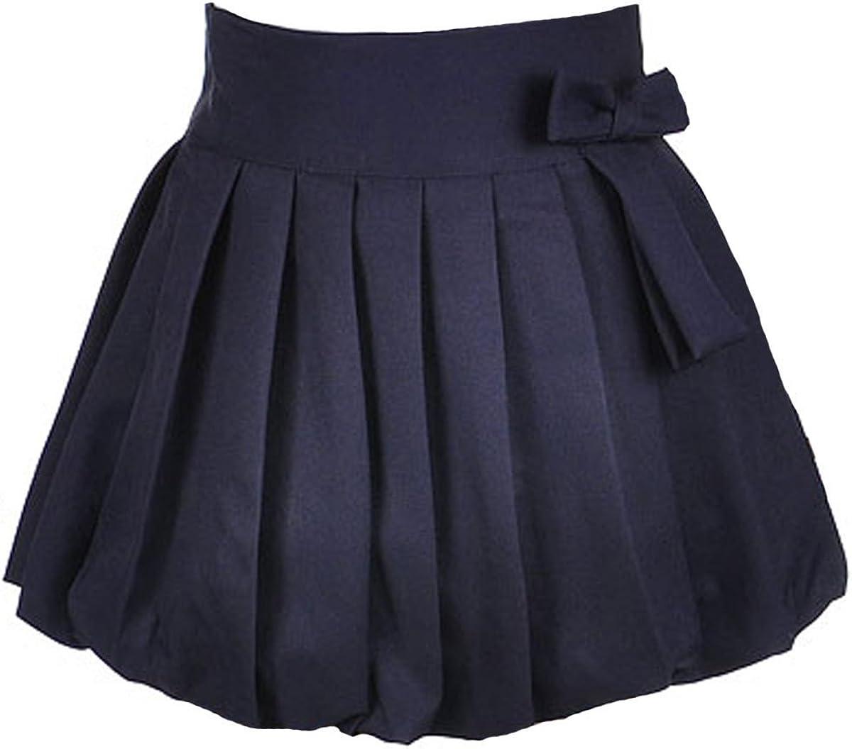 Little Girls Bubble Pleat Scooter Skirt U.S Polo Assn