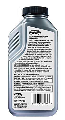 Bar's Leaks 1420-6PK Transmission Stop Leak - 11 oz., (Pack of 6) by Bar's Products (Image #1)