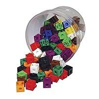 "Learning Advantage 7230 bloques de enlace, colores surtidos, 5.2 ""alto, 6.3"" ancho, 6.3 ""longitud (paquete de 100)"
