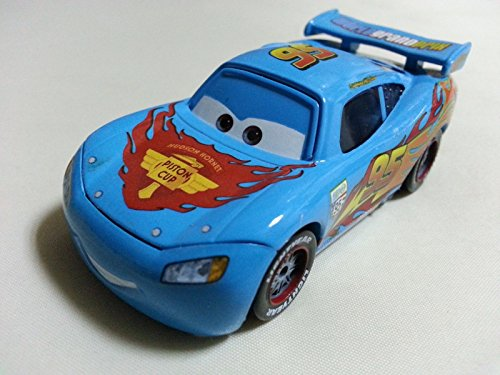 [Mattel Disney Pixar Cars Blue Lightning McQueen Diecast Toy Car 1:55 Loose New] (Sally From Cars Costume)