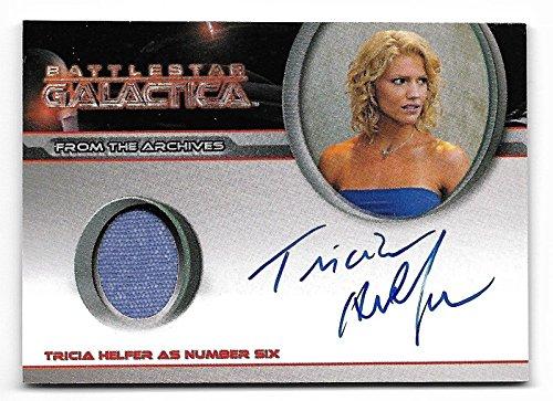 2008 Battlestar Galactica Season 3 Tricia Helfer as Cylon Number 6 Autograph Costume (Cylon Six Costume)